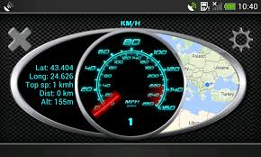 speedometer app android gps speedometer in kph and mph android apps on play