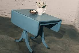 duncan phyfe style robin u0027s egg blue shabby chic dining table