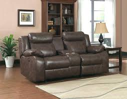 Black Leather Reclining Sofa Black Leather Recliner Sofa Power Glide Reclining Settee Flynn