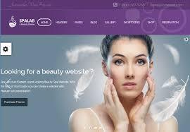 top 5 spa beauty nail salon hair stylist wordpress themes