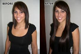 clip in hair extensions for hair before and after 16 7 silky clip in human hair extension medium