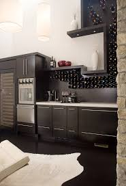 wall mount wine storage wine cellar contemporary with built in