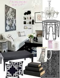 Black And White And Pink Bedroom 7 Decorating Rules Inspired By Coco Chanel U2014 The Decorista