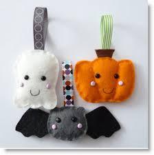 felt mini plush ornaments tutorial craft ideas