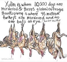 what s the difference between yulin and thanksgiving propaganda