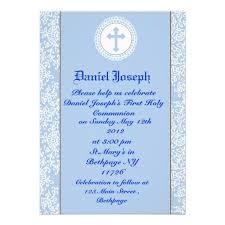communion invitations for boys personalized boys holy communion invitations