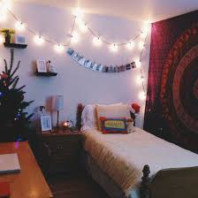 my bedroom string lights u0026 urban outfitters tapestry for fashion