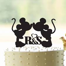 engagement cake toppers m and m initials wedding engagement cake topper our happily