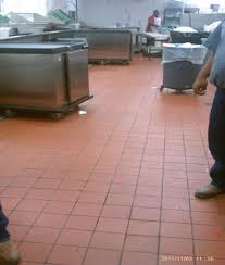 Commercial Kitchen Flooring Options Commercial Kitchen Floor Non Slippery Tiles Morespoons 0d7410a18d65
