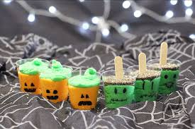 easy and healthy halloween party snacks for kids