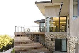 underpinning exterior contemporary with slope l wall sconces