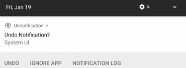 android undo accidentally dismissed notifications with unnotification for