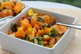 thanksgiving side dish butternut squash salad the traveling taste