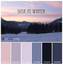 winter color schemes winter color palettes for design inspiration colour pinterest