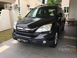 used cars honda crv 2008 honda cr v 2008 i vtec 2 0 in sabah automatic suv black for rm