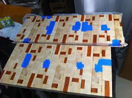 m scott morton end grain butcher block countertop finishing