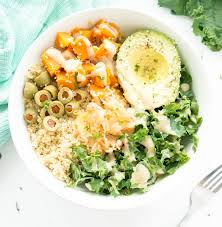 quinoa cuisine savory kale quinoa macro glow bowl the glowing fridge