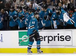 couture labanc help lead sharks past hurricanes 4 3 boston herald