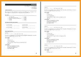 Sample Australian Resume Format Australian Resume Format Sample 7 Sample Resume Format Resume