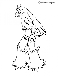 blaziken coloring pages hellokids com
