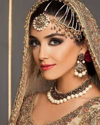 Red Bridal Dress Makeup For Brides Pakifashionpakifashion 574 Best Jewellery Images On Pinterest Jewelery Gold Jewellery