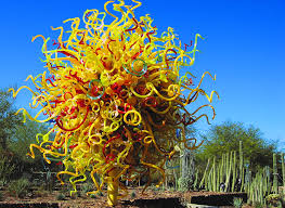 Phx Botanical Garden Chihuly Dale Chihuly Sculptures In The Botanical Gardens