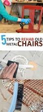 Metal Lawn Chairs Old Fashioned by 25 Unique Old Metal Chairs Ideas On Pinterest Metal Folding