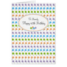 happy 65th birthday cards u0026 invitations zazzle com au