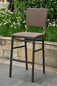 mesmerizing outdoor wicker bar stools wallpaper decoreven