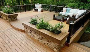 Deck In The Backyard Backyard Deck Designs Plans Stirring Simple 3 Tavoos Co