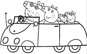 peppa pig printable coloring pages kids coloring