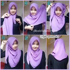 tutorial hijab segitiga paris simple tutorial hijab segi empat untuk sehari hari