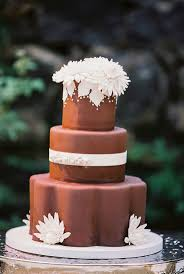 20 decadent and delicious chocolate wedding cakes chic vintage