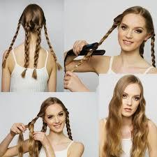 Hochsteckfrisurenen Ohne Haargummi by Die Besten 25 Haare Ohne Lockenstab Wellen Ideen Auf
