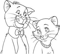 u0027malley duchess aristocats coloring pages