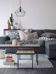 Living Room Ideas Grey Sofa by How To Decorate With Blush Pink Pink Accents Modern Living
