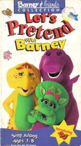Barney Three Wishes Vhs 1989 by Let U0027s Pretend With Barney Vhs Twilight Sparkle U0027s Media Library