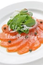 cuisiner saumon fumé saumon fumé aux câpres recette facile un jour une recette