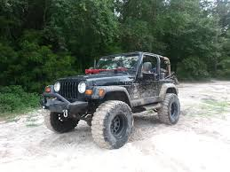 jeep wrangler beach cruiser black betty 99 tj 6 inch lift on 35 inch tires she brings me