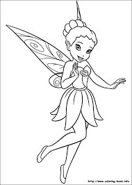 secret of the wings coloring picture iridessa color tinkerbell