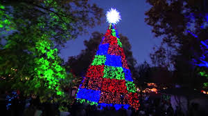 free christmas lights branson mo silver dollar city s an old time christmas youtube