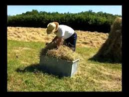 How To Make A Hay Bail Blind How To Make A Hand Made Hay Bale Youtube