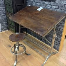 Oak Drafting Table by Making A Vintage Drafting Table Home Decorations