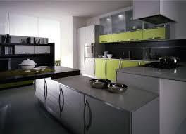 grey and green kitchen interior design clean and straight line kitchen cabinet with grey