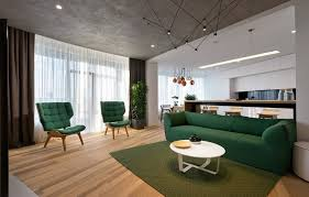 Minimalist Apartment Skyline Minimalist Apartment By Sergey Makhno Architects