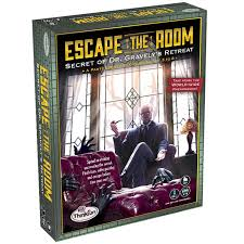 escape the room dr gravely u0027s retreat mystery puzzle board game