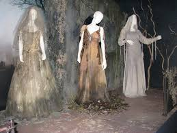 the three ghost costumes as presented at the 4th annual