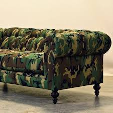 Are Chesterfield Sofas Comfortable Camouflage Chesterfield By Cococohome Chesterfield