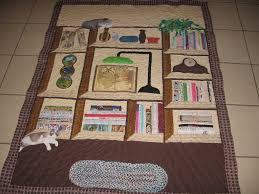 Bookshelf Quilt Pattern My Aunt U0027s Bookcase Quilt