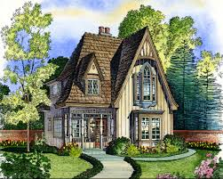 home design european cottage style house plans small english